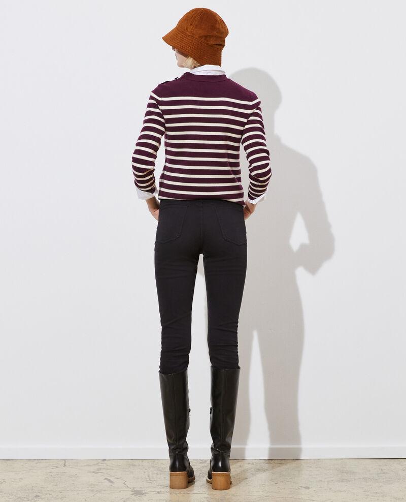DANI - SKINNY - 5- Pocket-Jeans mit hoher Taille Black beauty Pozakiny