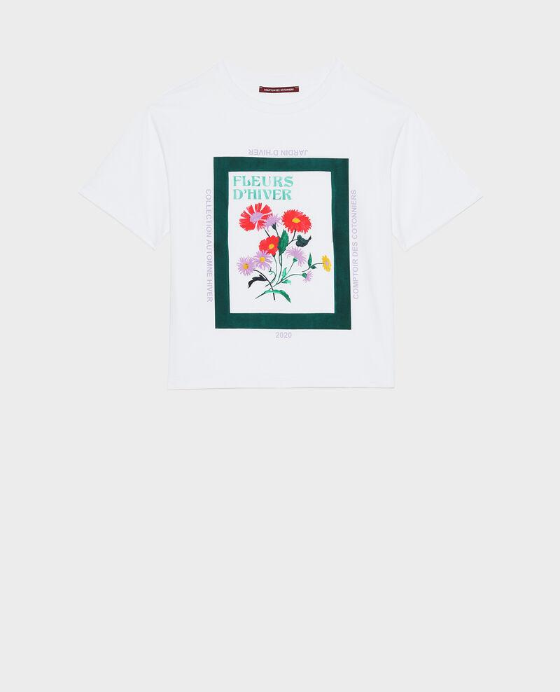 T-Shirt aus Baumwolle mit kurzen Ärmeln Dark green Masny