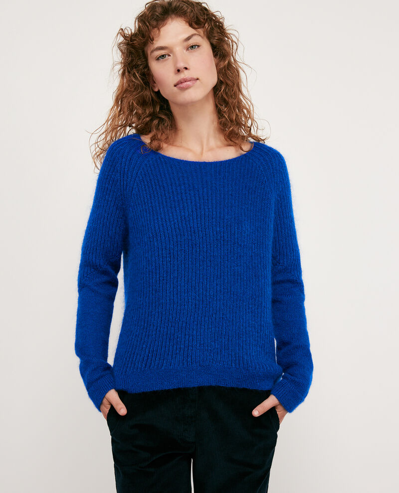 Mohair-Pullover Sapphire Dogs