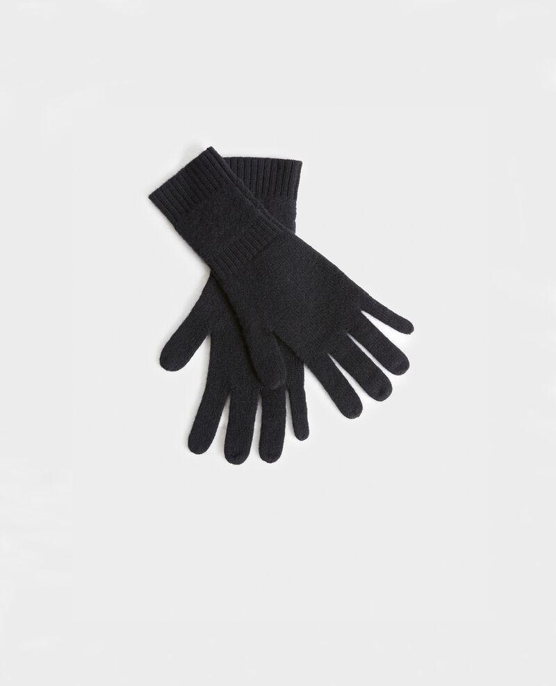Handschuhe aus Kaschmir Black beauty Miramo