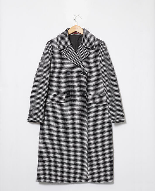 Wollmantel HOUNDTOOTH