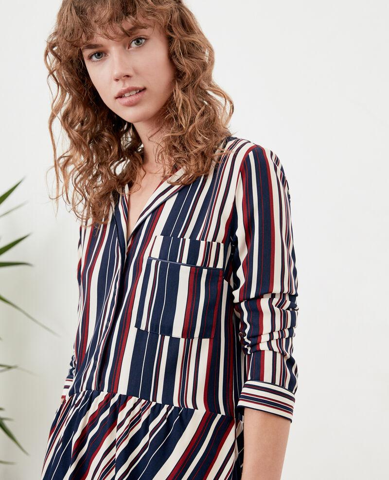 Gestreiftes Kleid Stripes marine/devil Dorothy