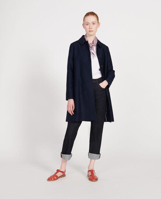 Mantel aus Baumwolle MARITIME BLUE