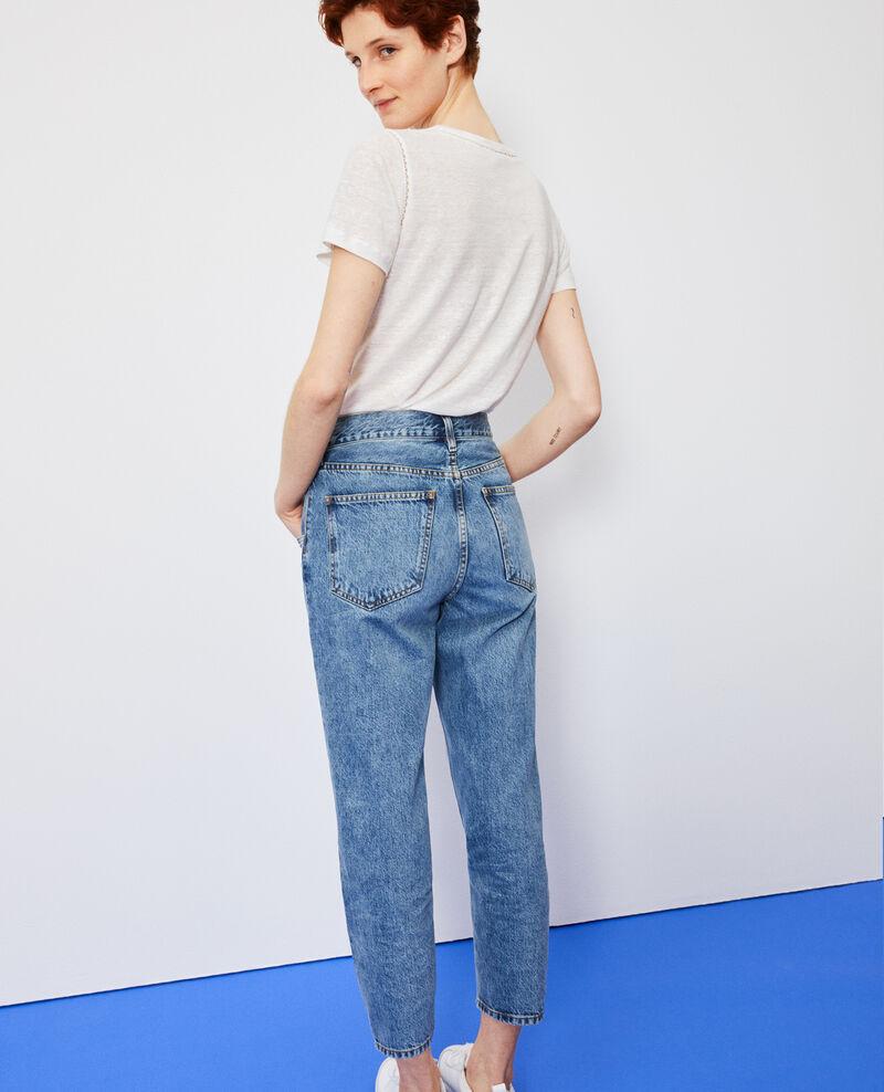 SLOUCHY - Verwaschene 7/8-Jeans Vintage wash Neroneige