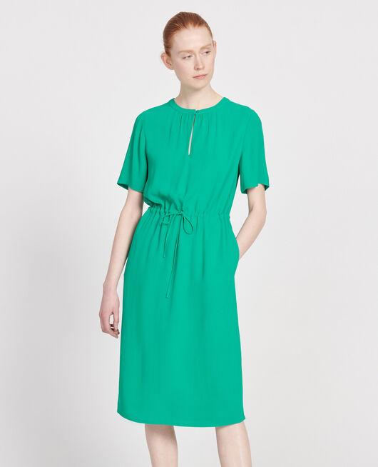 Gerades und fließendes Kleid GOLF GREEN