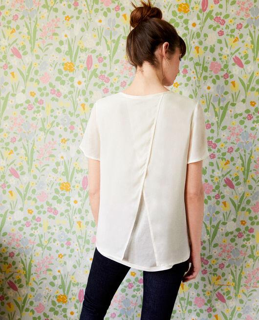 T-Shirt aus Bimaterial OFF WHITE