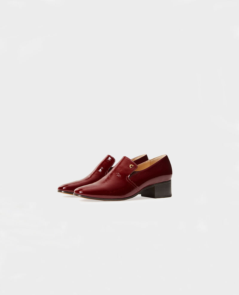 Mokassins aus Leder Royale red Meaux