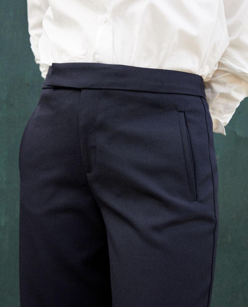 Gerade geschnittene Hose Dark navy Joubert