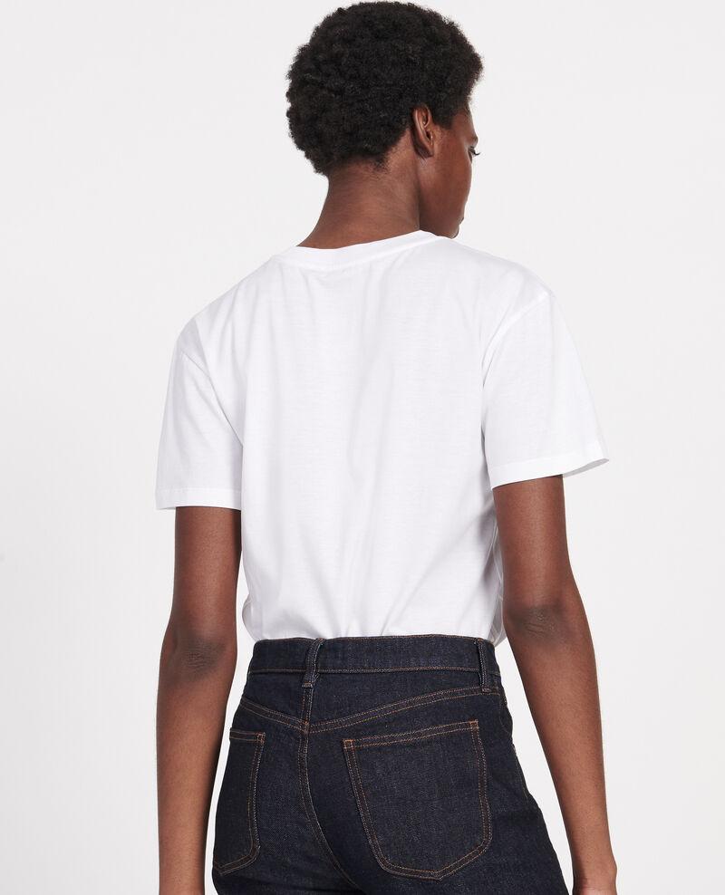 Klassisches T-Shirt aus ägyptischer Baumwolle Optical white Lirous