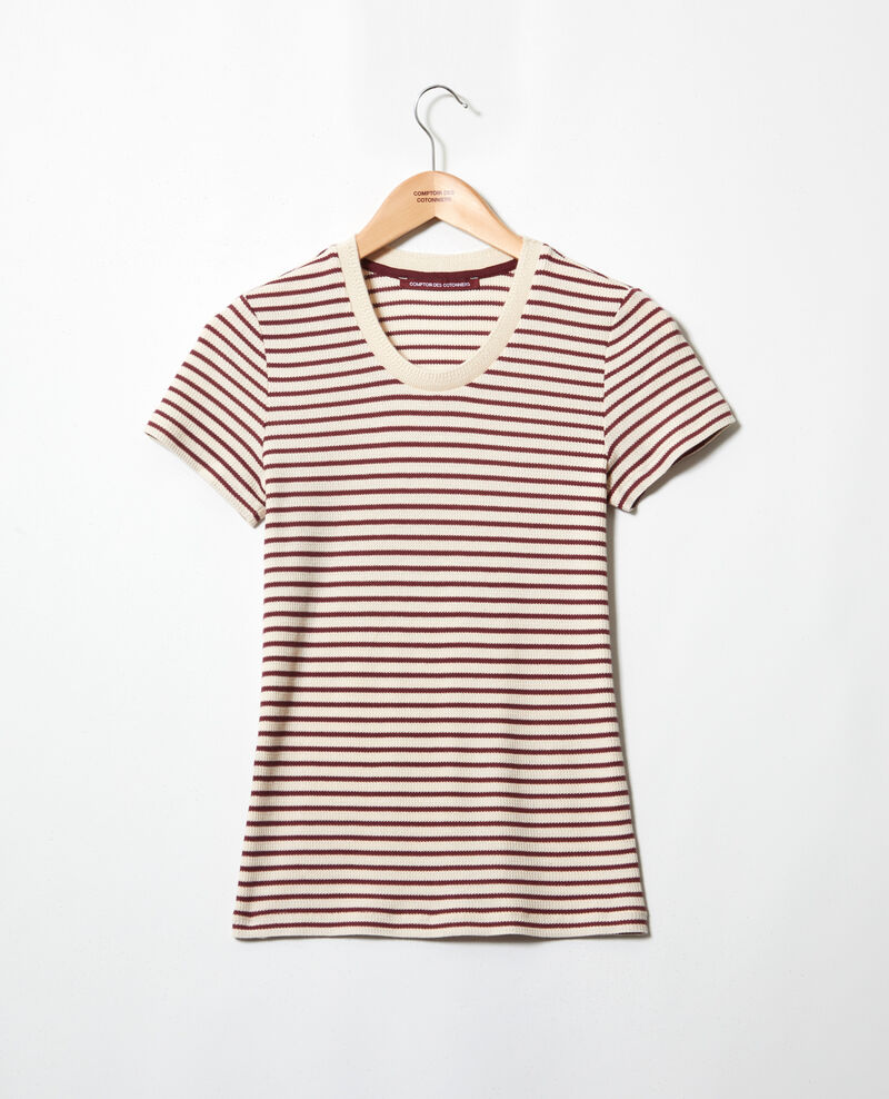 Matrosen-T-Shirt Beige/red Ivea