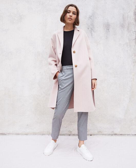 Doppelseitiger Mantel PINK ICING