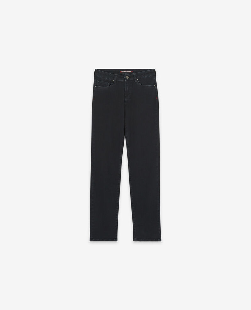 Jeans in Zigarettenform Faded black Dopen
