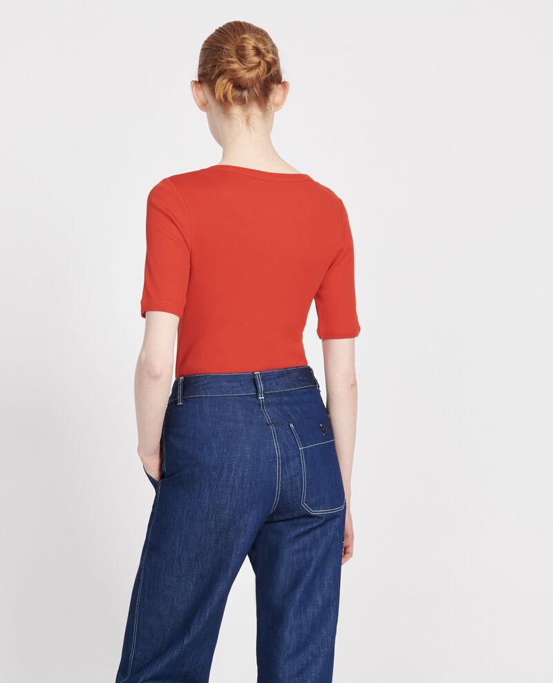 T-Shirt aus Baumwolle Fiery red Lasso