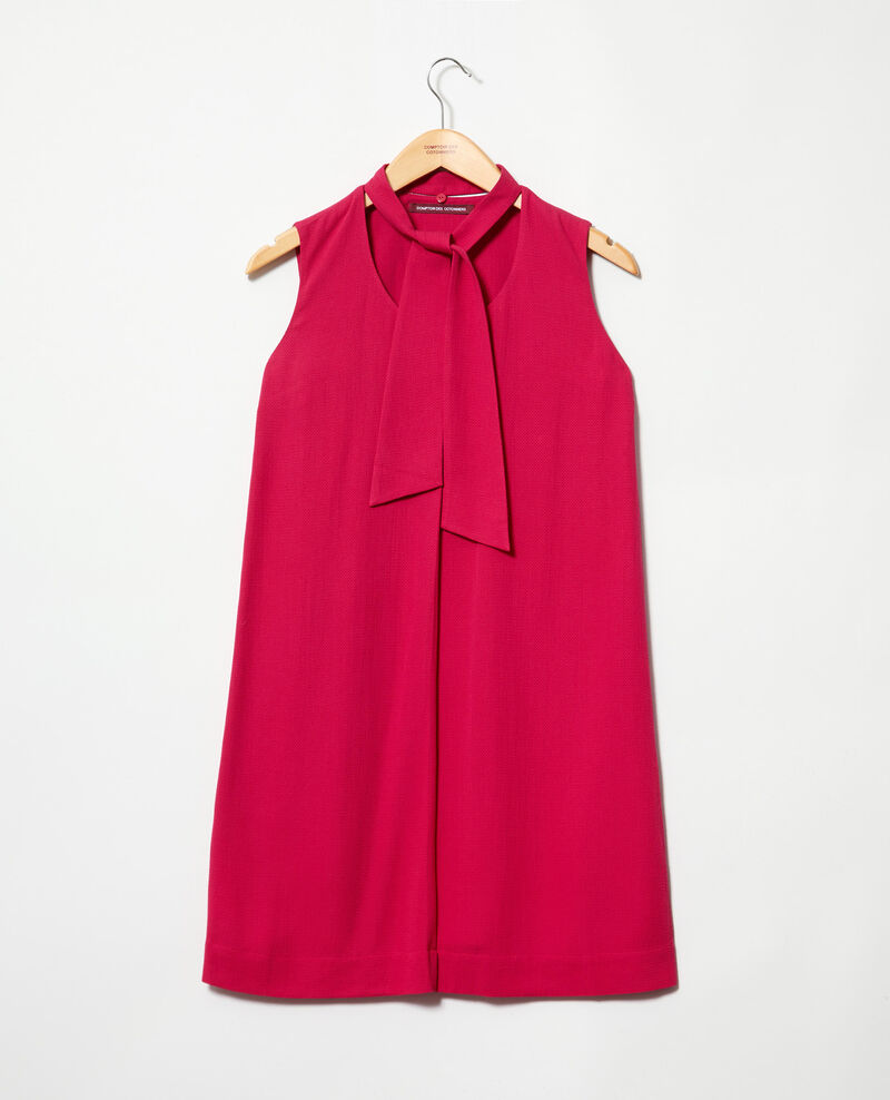 Kleid mit abnehmbarem Band Fushia Iolandi
