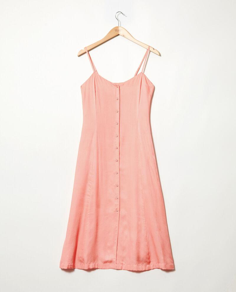 Kleid mit Seide Salmon pink Ibriella