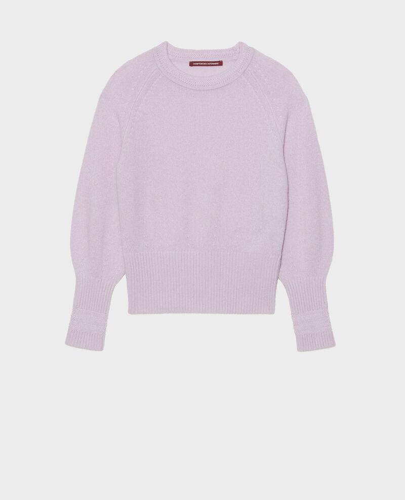 Pullover aus Kaschmir mit Puffärmeln Pastel lilac Migny