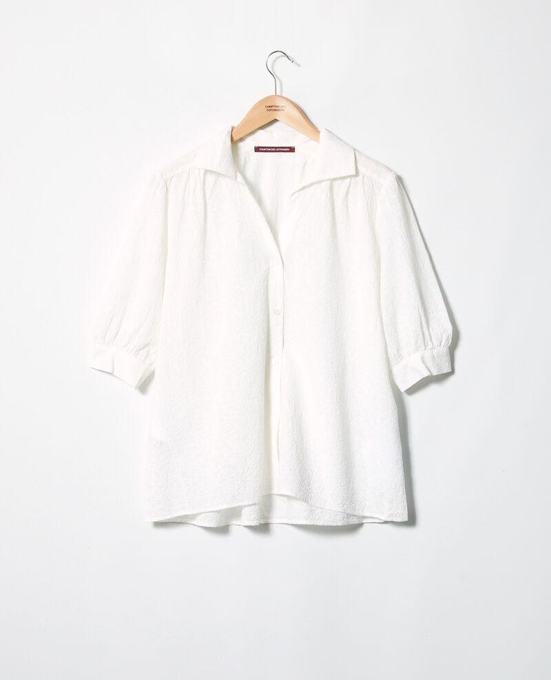 Chemise en coton brodé Off white Imagination