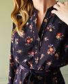 Hemdkleid mit Gürtel Bouquet deep well Jarine