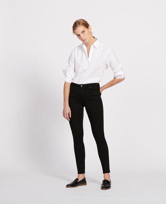 Jeans mit Skinny-Fit NOIR
