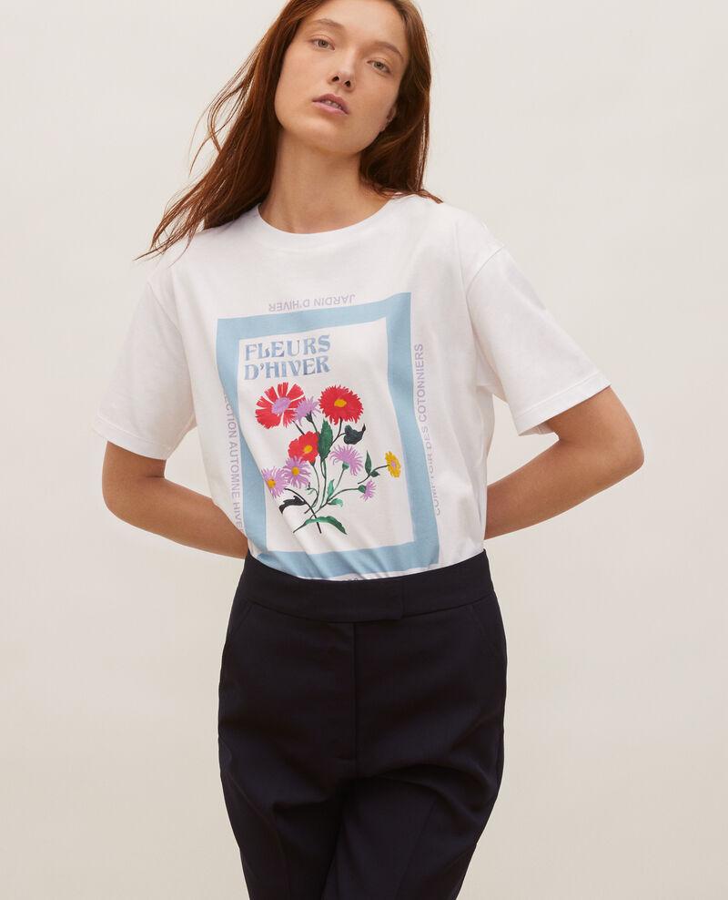 T-Shirt aus Baumwolle mit kurzen Ärmeln Forget me not Masny