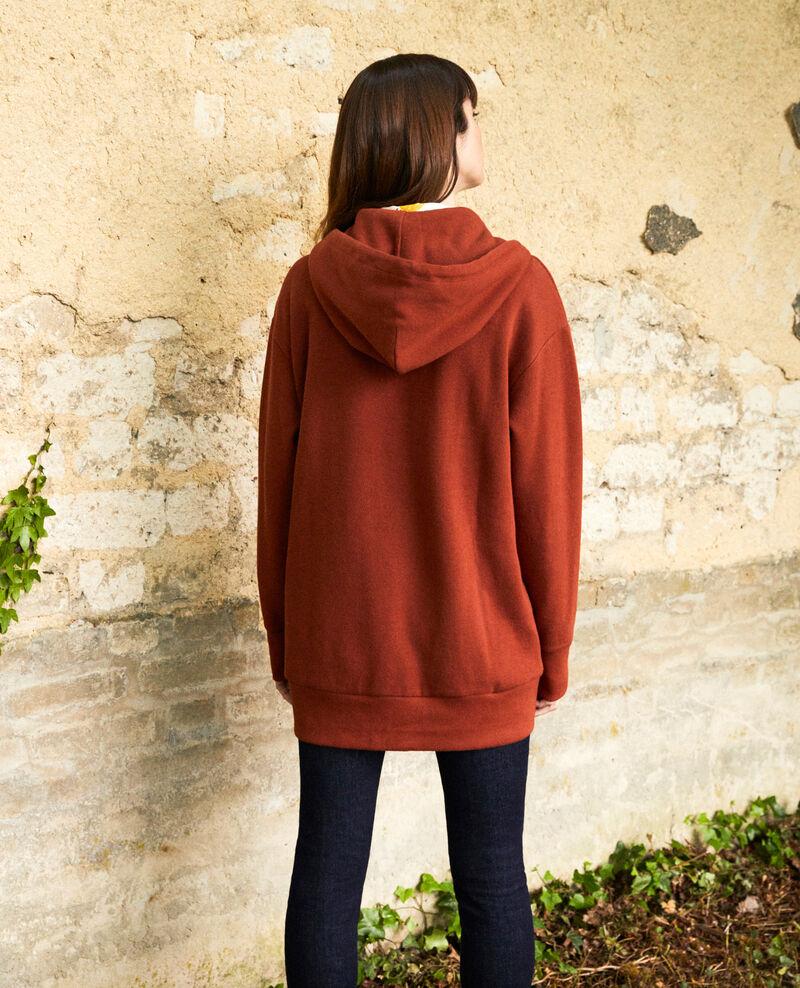 Kapuzen-Sweatshirt Brandy brown Jasette