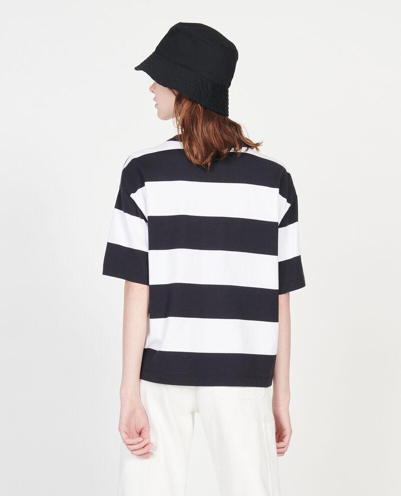 T-Shirt aus merzerisierter Baumwolle Str opticalwhite black Lord