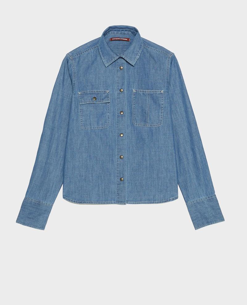 Jeansbluse Denim blue Ladigna