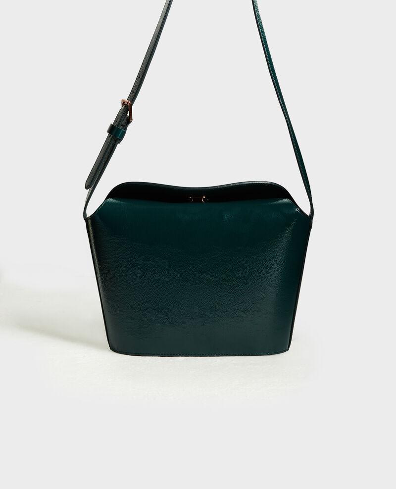 Lederhandtasche mit kurzem Schultergurt Rain forest Midylle