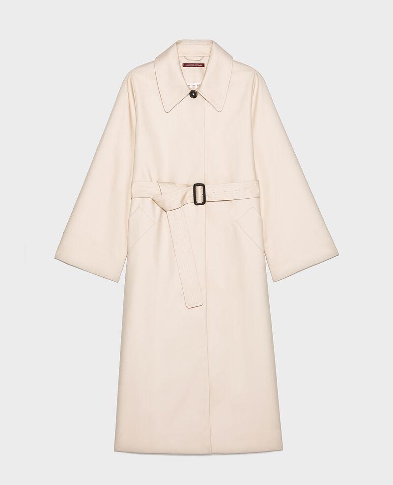 Trenchcoat aus Baumwolle  Smoke gray Locky