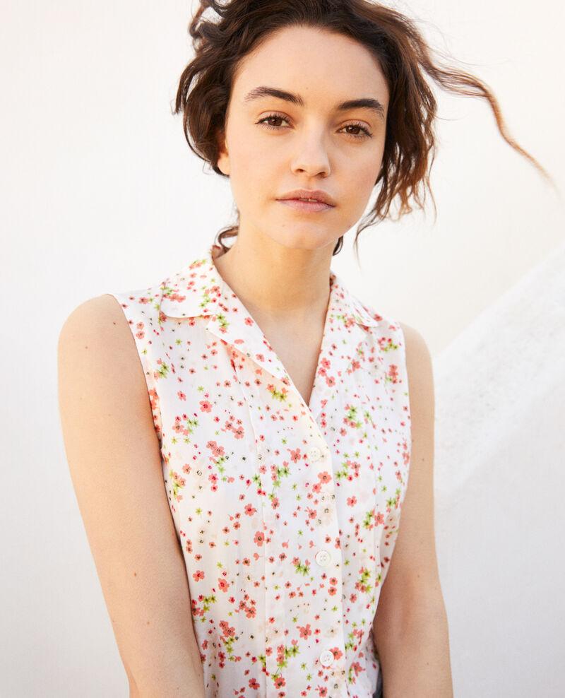 Ärmellose Bluse aus Baumwolle Primula ow Imula