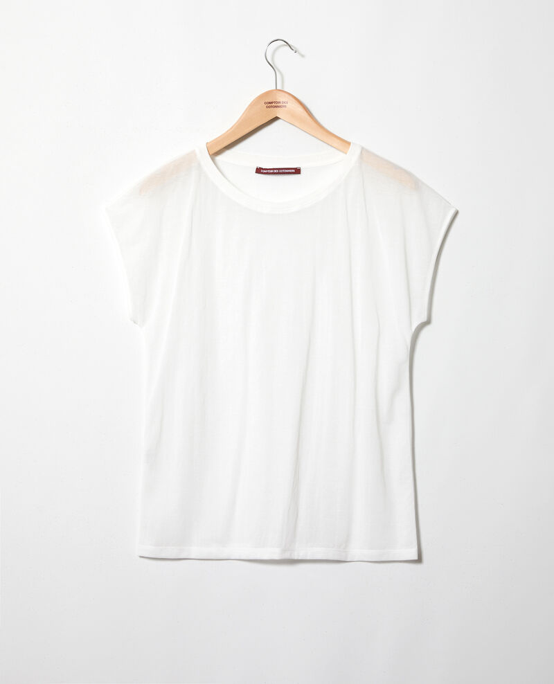 T-shirt intemporel Off white Idele