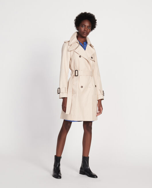 Zeitloser Trenchcoat SMOKE GRAY