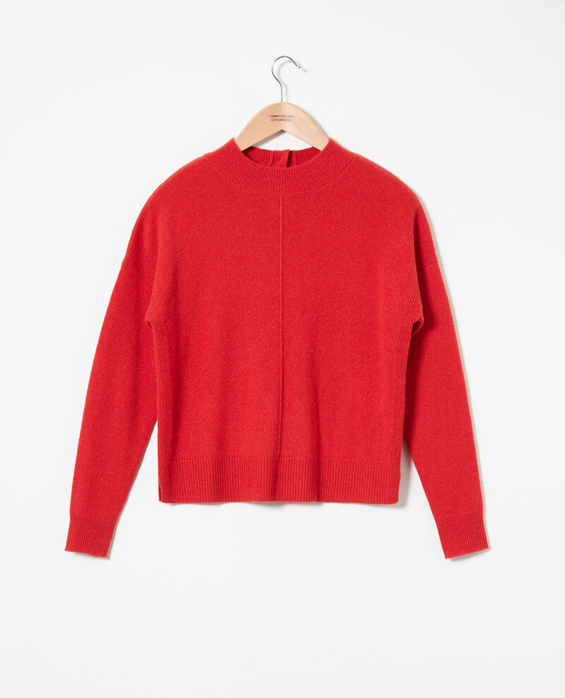 Pullover mit Knöpfen im Rücken Molten lava Jook