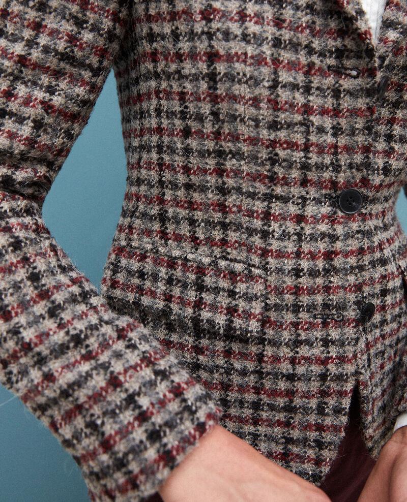 Blazer mit Wolle Rot Gorte