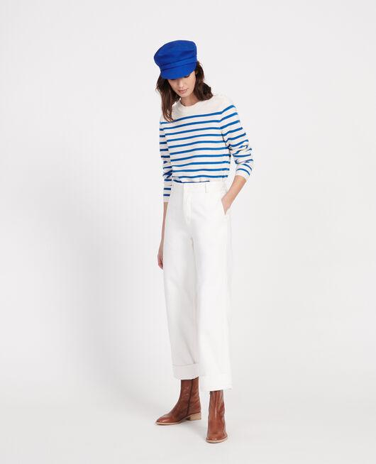 Hose mit Taschen OPTICAL WHITE