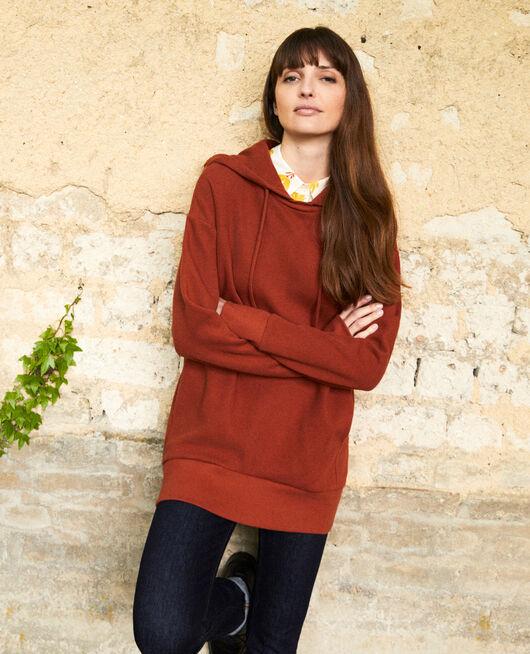 Kapuzen-Sweatshirt BRANDY BROWN