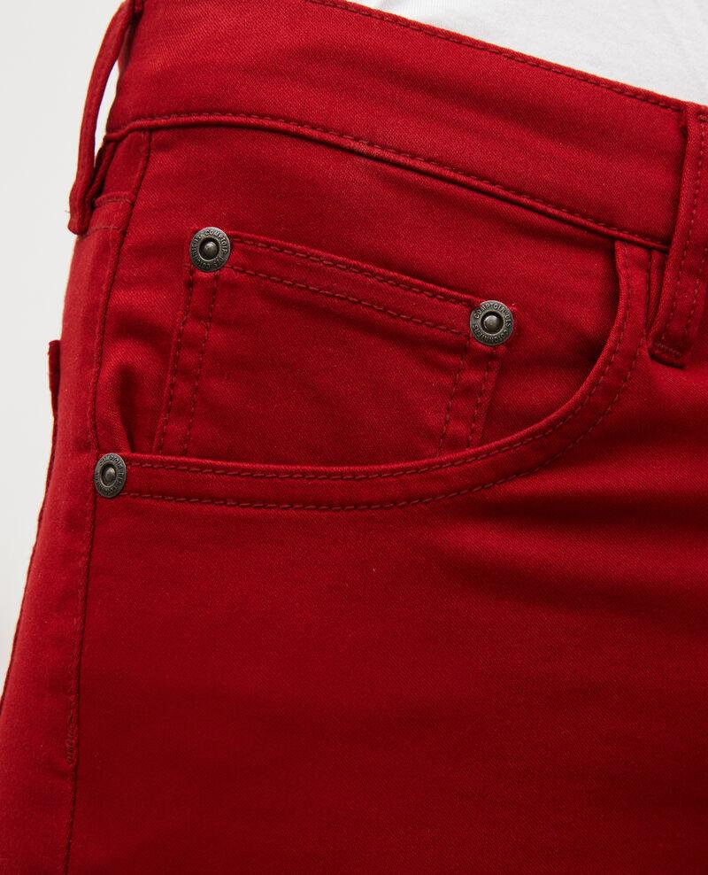SKINNY - Jeans 5 Tascchen Royale red Mozakiny