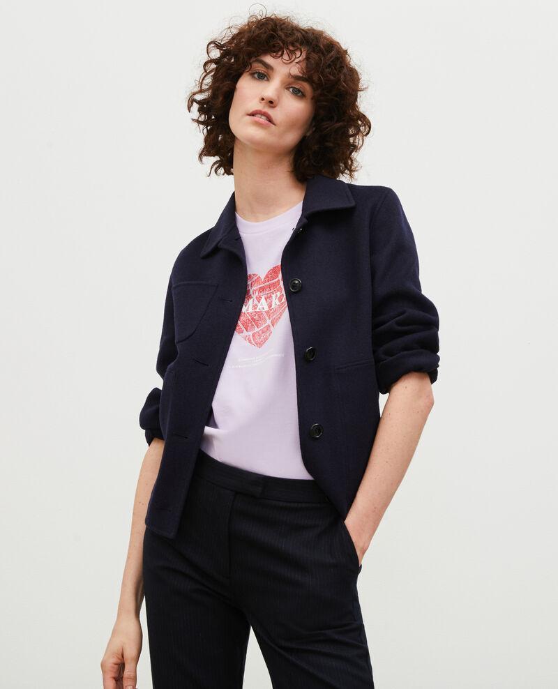 T-Shirt aus Baumwolle mit kurzen Ärmeln Pastel lilac Mia