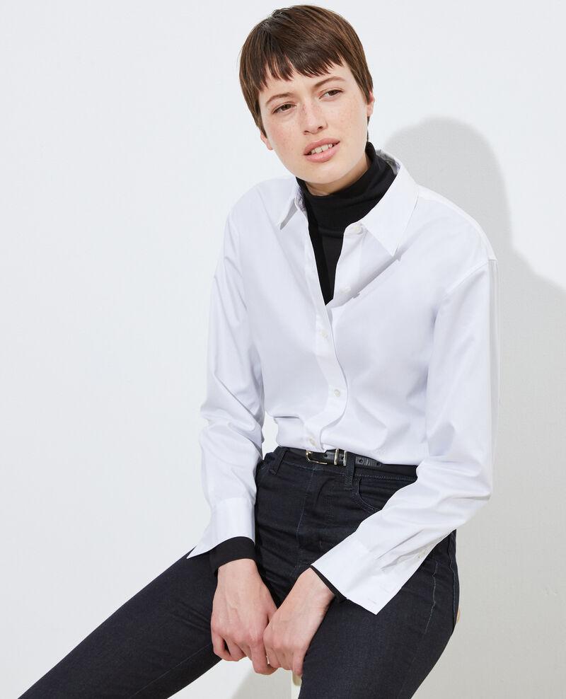 Herrenhemd aus Supima-Baumwolle Brilliant white Mynde