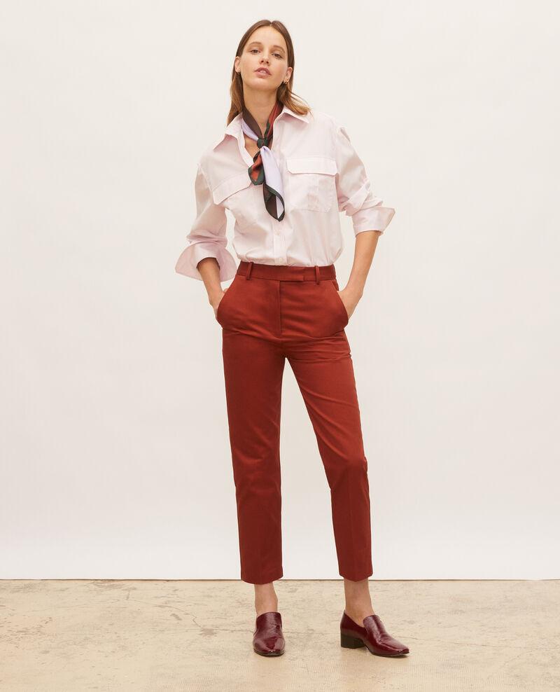 Oversized Herrenhemd aus Baumwolle  Primrose pink Lauryl