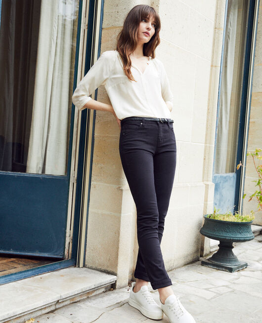 Slim-fit-Jeans NOIR