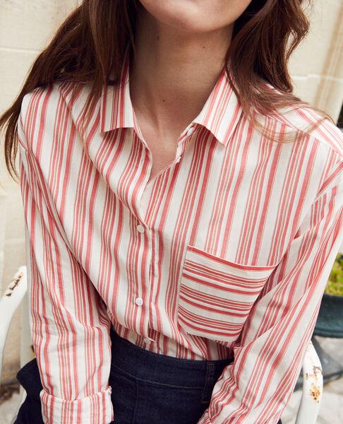 Comptoir des Cotonniers - chemise rayée en coton - 4