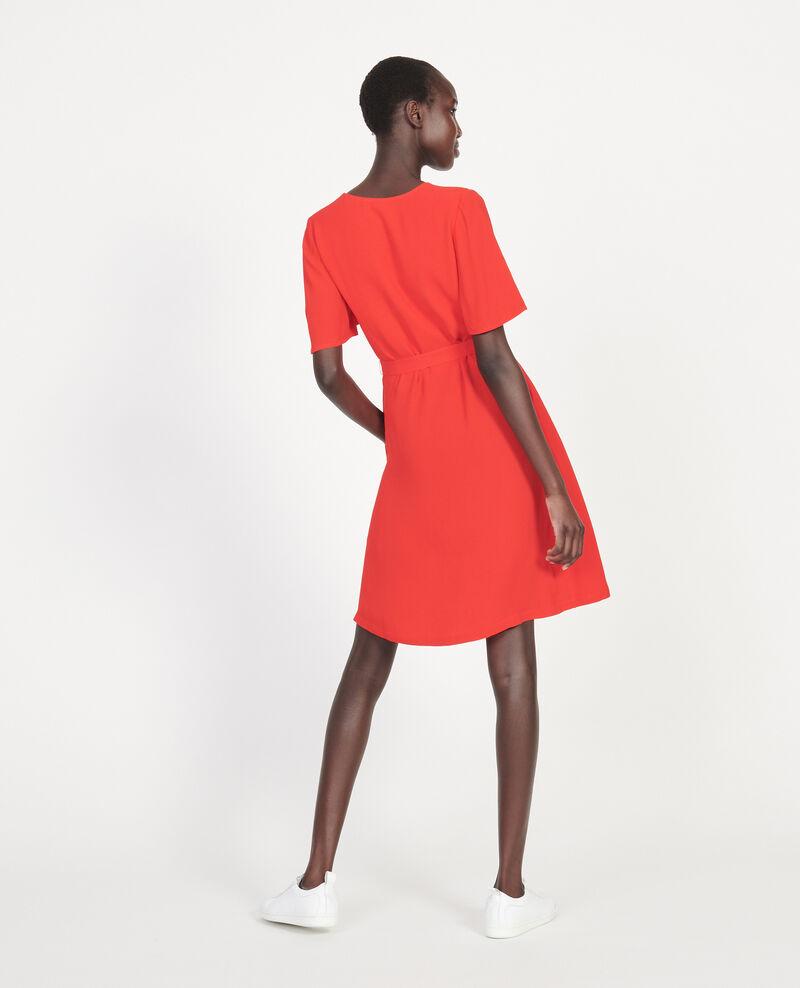 Fließendes Kleid Fiery red Lavishort
