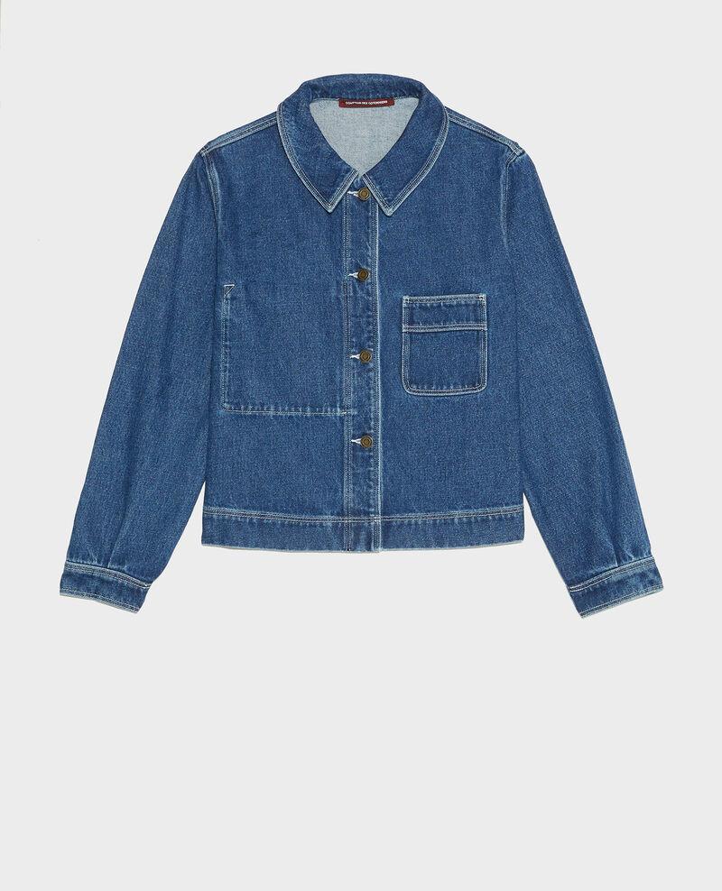 Jacke aus Denim Denim vintage wash Lalon