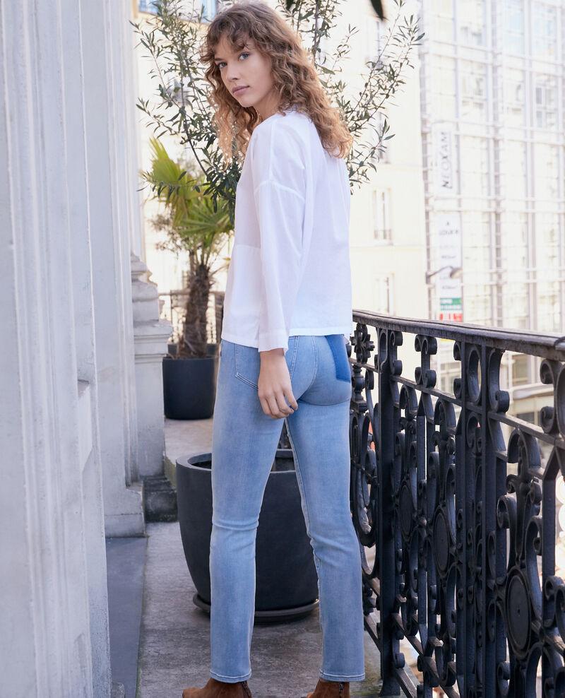 Zigaretten-Jeans Fashion detail wash Fabuleux