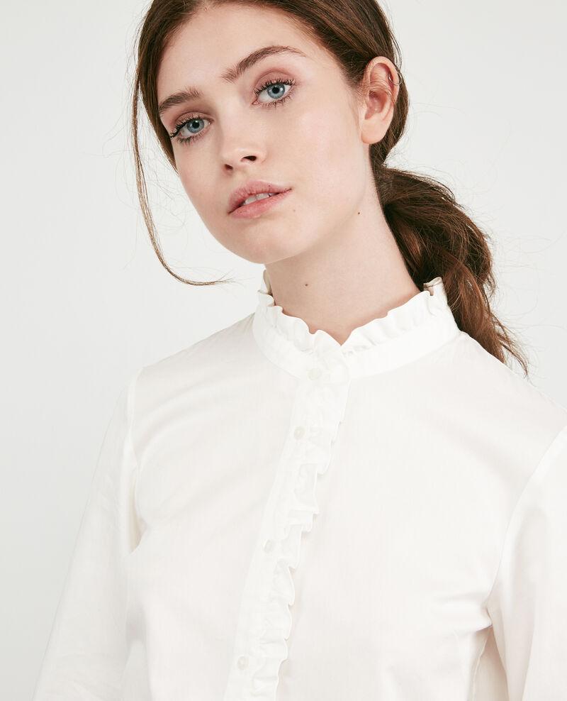 Rüschenbluse Blanc Doremi