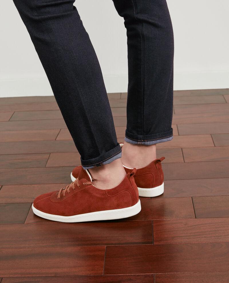 Sneakers aus Leder Rust Delaver