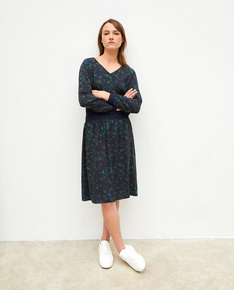 Kleid mit elastischer Taille Fc olive night Gapricorne