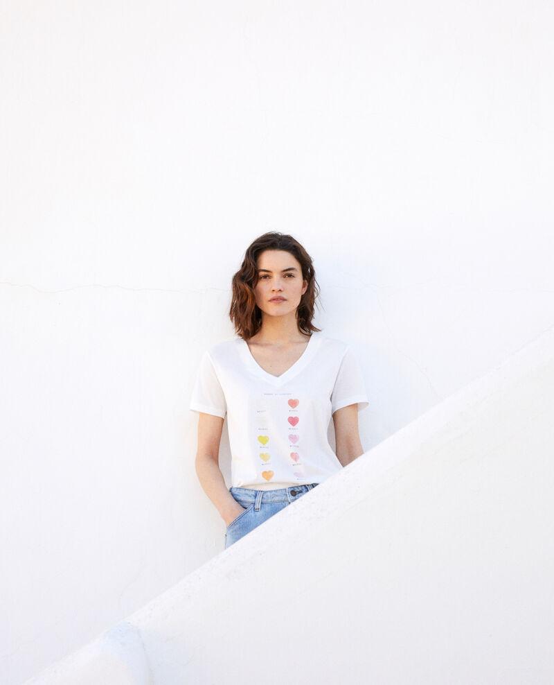 T-Shirt Farbpalette Off white Iga
