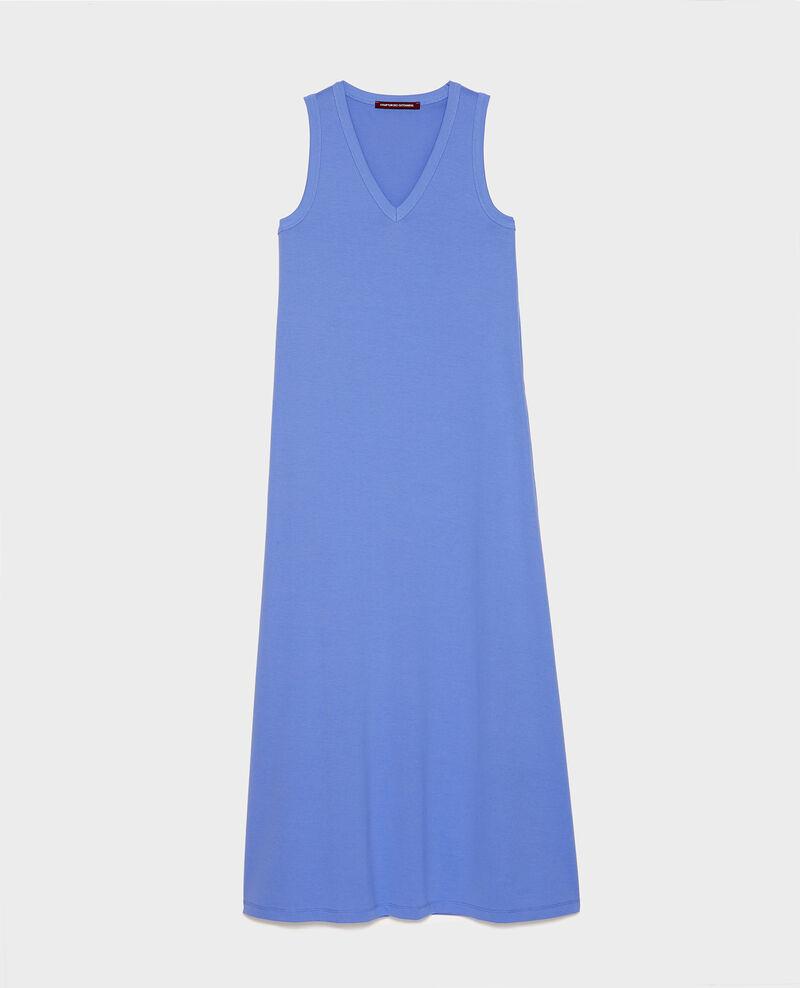 Langes Kleid aus merzerisierter Baumwolle Persian jewel Larosa